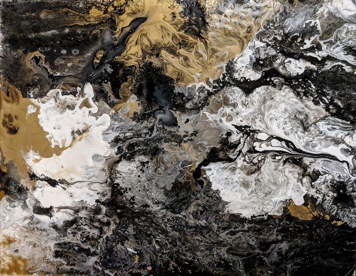 Black Granite - Amber Lamoreaux Art