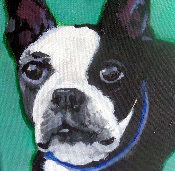 Boston Terrier - Jeanne Russell