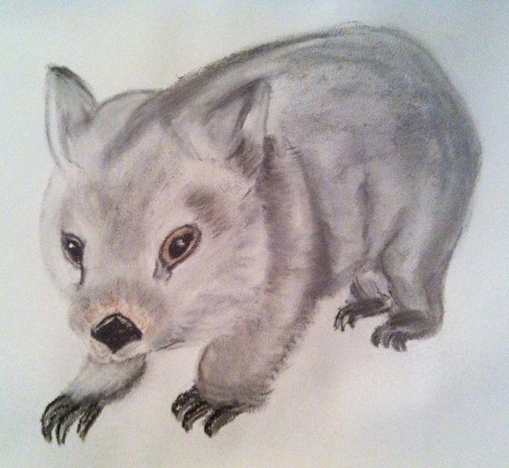 Wombat named Lenny - Andrea Devos