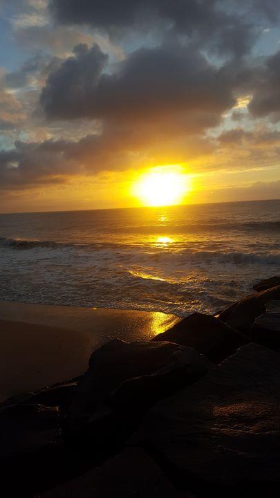 Ocean Sunrise - Megan