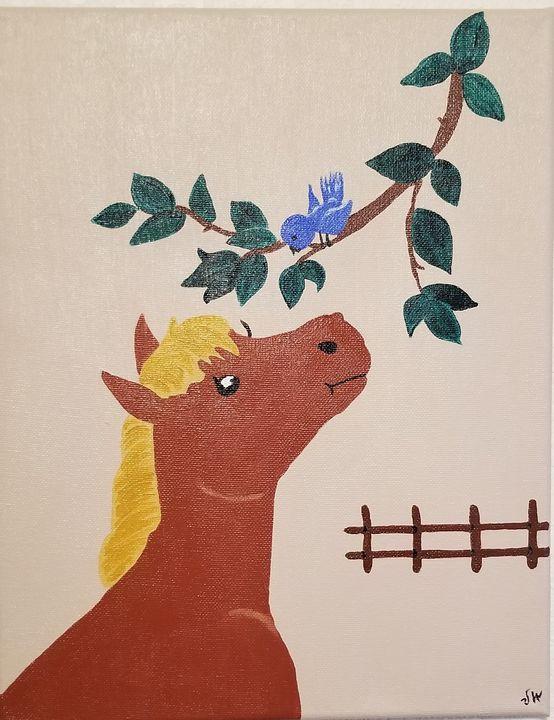 Horse - P V Hughes Art