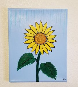 Sunflower - P V Hughes Art