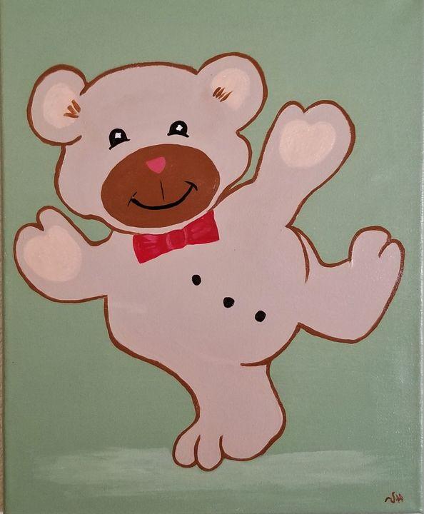 Teddy Bear - P V Hughes Art