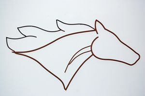 Simple Horse Head