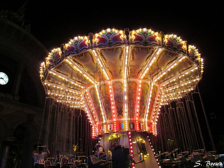 Carousel in Switzerland - S. Brown Photography