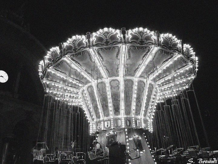 Carousel in the Newspaper - S. Brown Photography