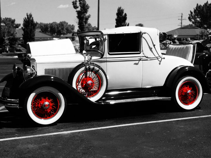 Red Oldie - S. Brown Photography