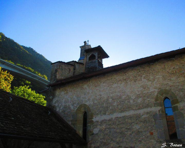 Montreux Castle - S. Brown Photography