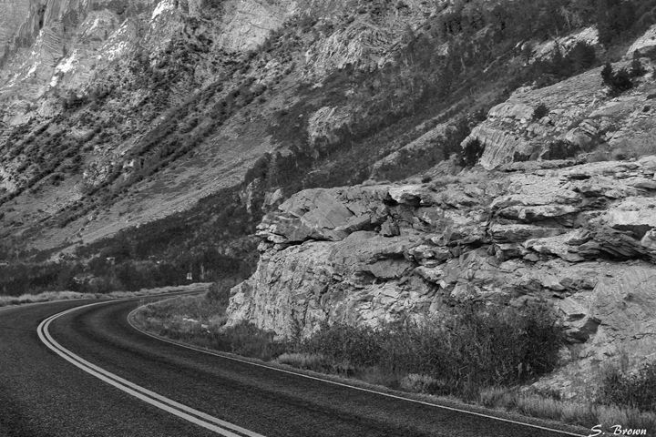 Winding Road - S. Brown Photography