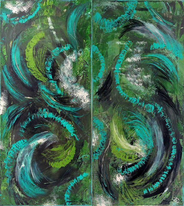 Flow of Nature - Jacqueline Martin Art