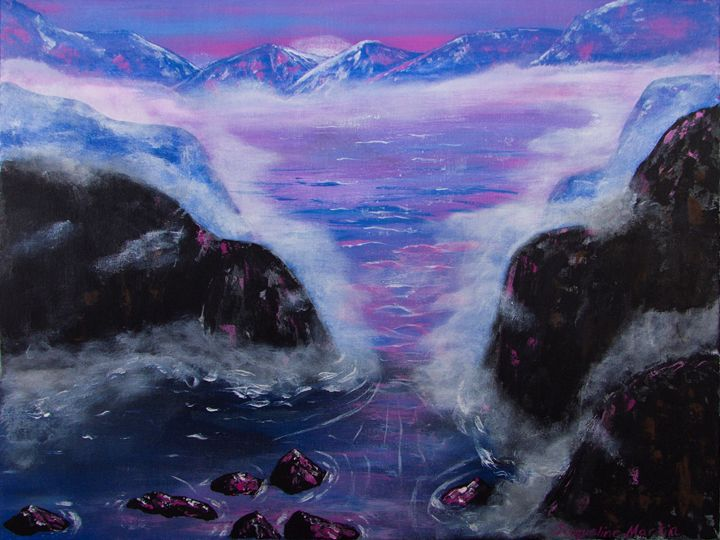Mystical Lake - Jacqueline Martin Art