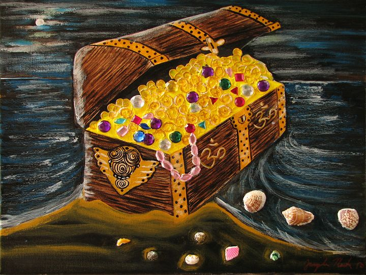 Treasure Chest of Om - Jacqueline Martin Art