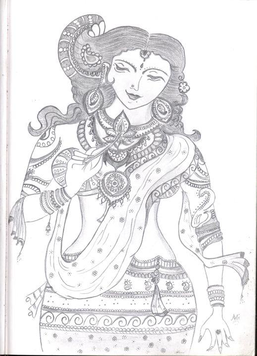 Ancient Indian Women - My Book of Art