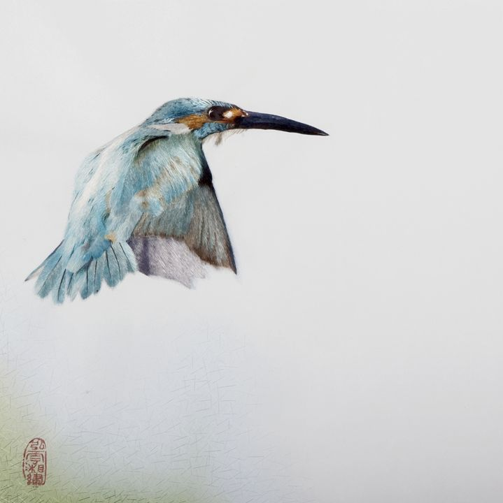 Kingfisher - Mulberry Gallery