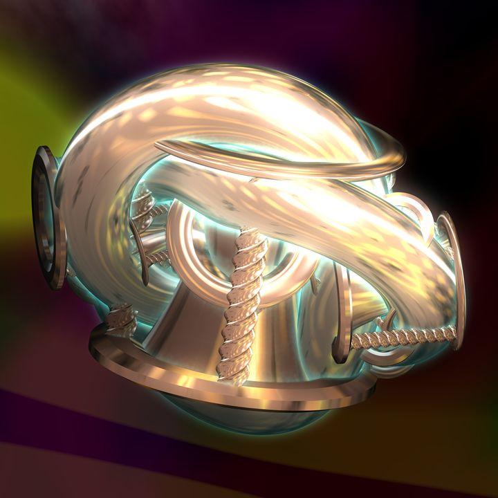 Fr.1026 horn - Fractal art