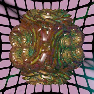 Ornamental vase - Fractal art