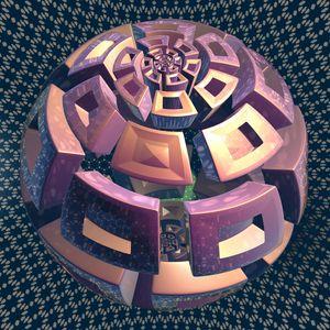 Fr.1051 sphere - Fractal art