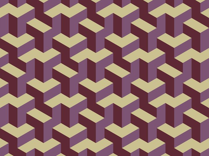 Bluilding blocks - Fractal art