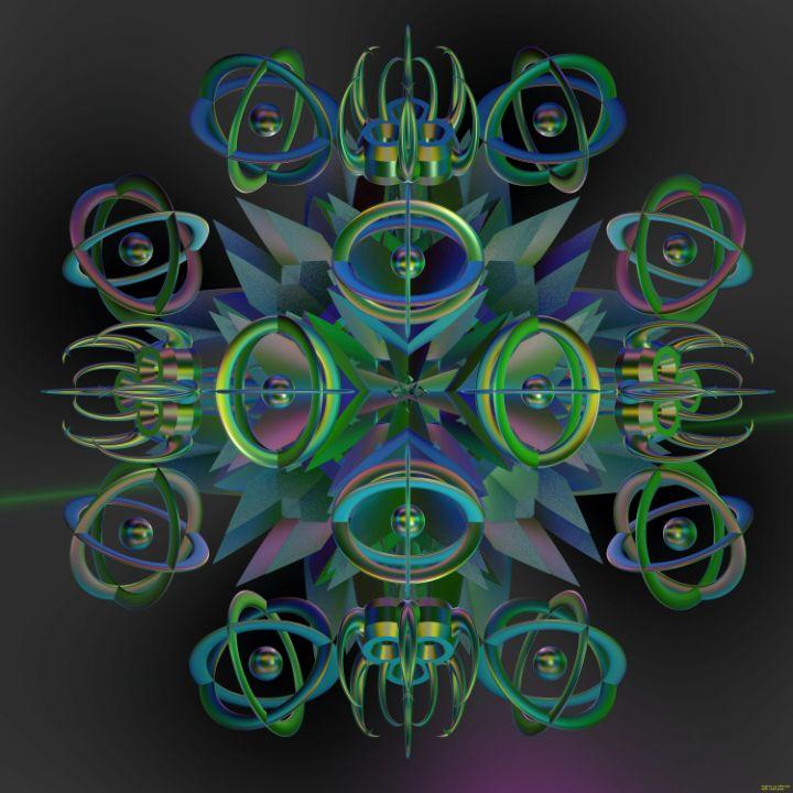 Fr.8033 composition - Fractal art