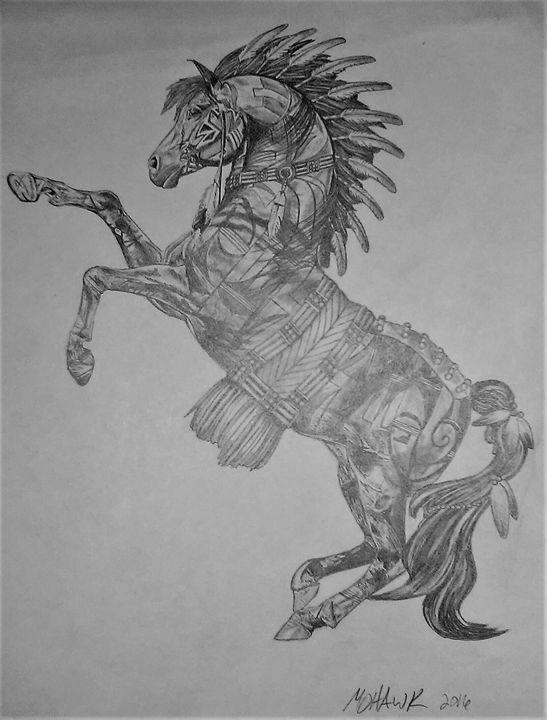 Spirit Warrior - Sketch