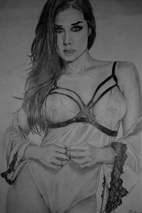 Lingerie Latina - Sketch
