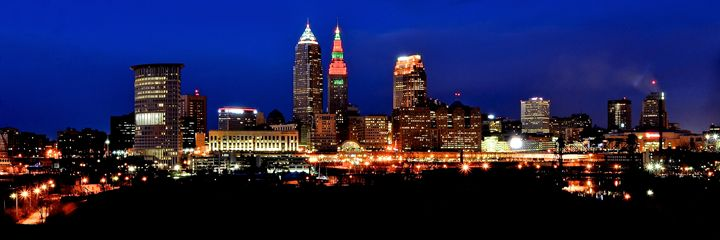 Cleveland Panorama - Cleveland Art