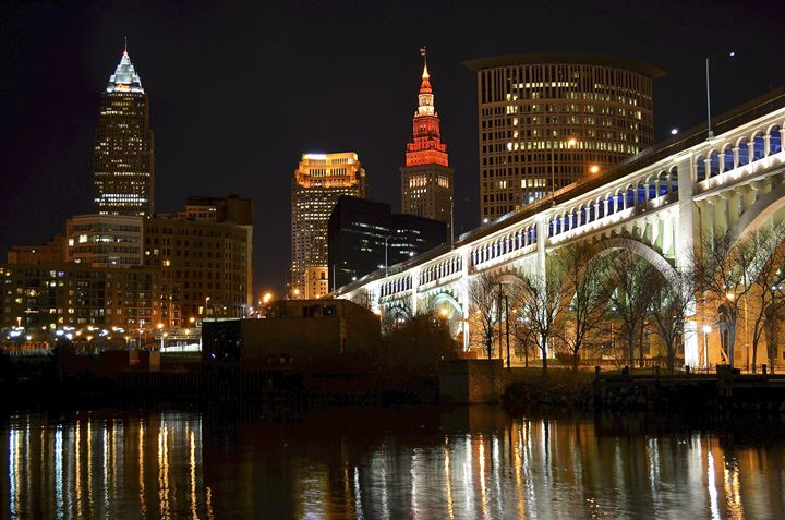 Iconic Cleveland View - Cleveland Art