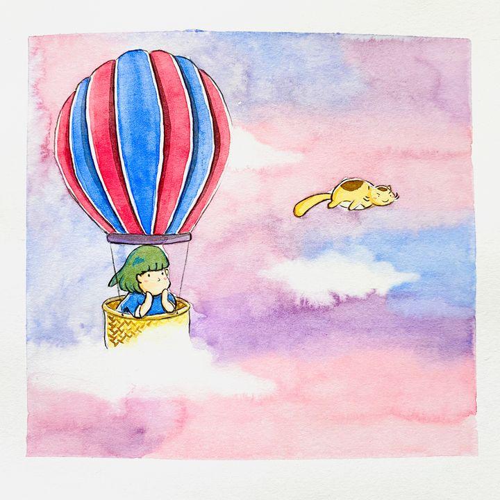 I Believe I Can Fly - Drawbyluck