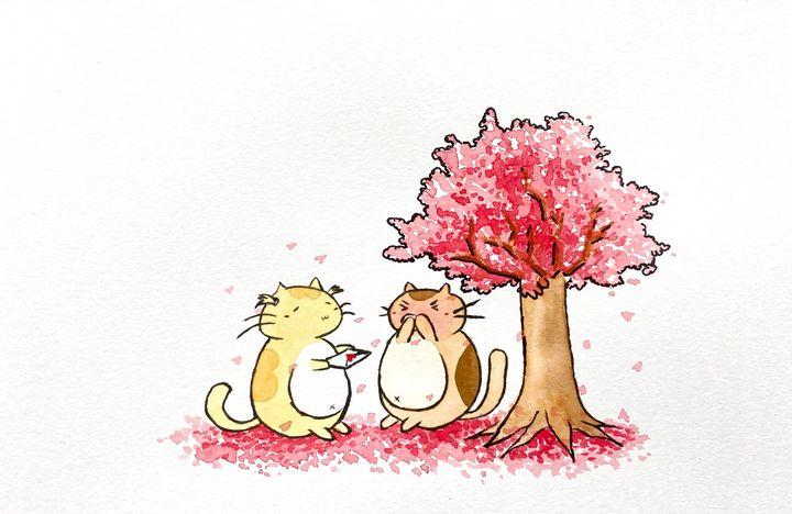 Kitty Love - Drawbyluck