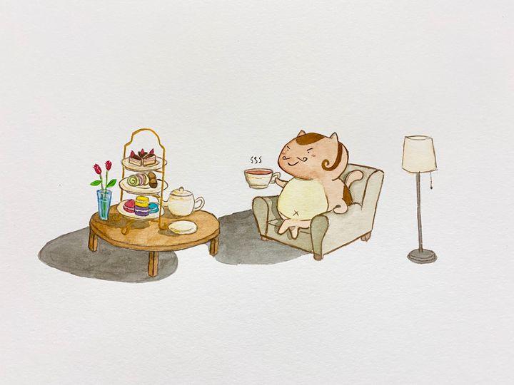 Teatime - Drawbyluck