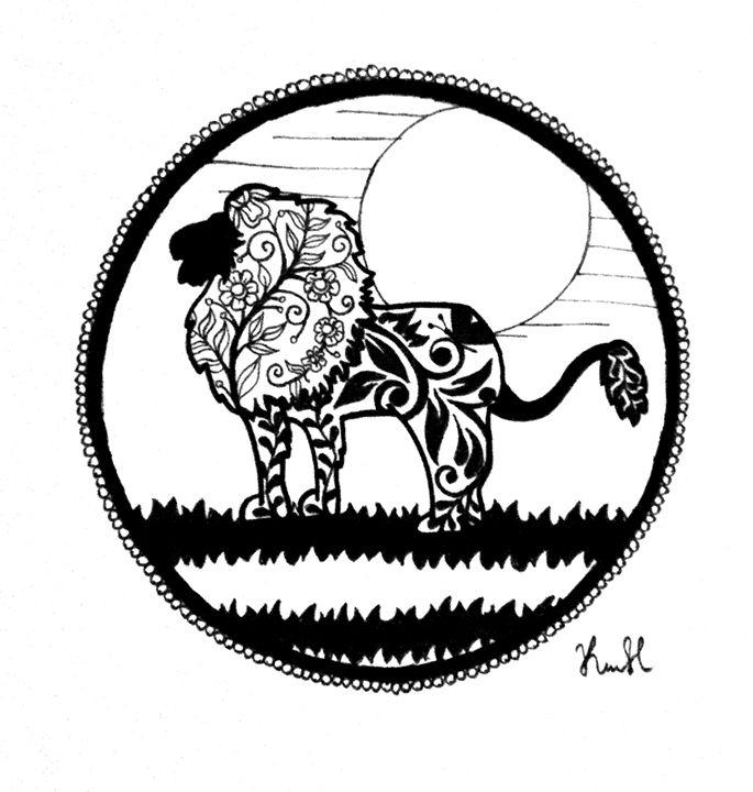 Lion - Unicolor