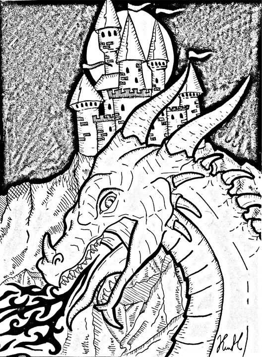 Dragon - Unicolor