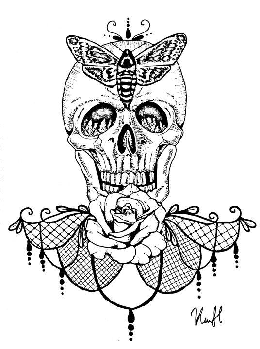 Flower of Death - Unicolor