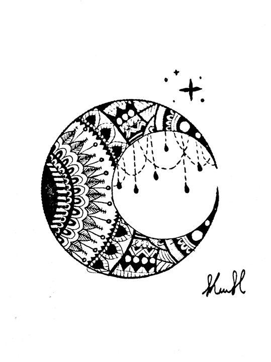 Moon - Unicolor