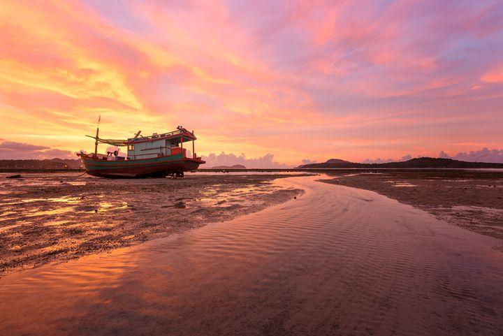 Low Tide Stream - Andreas Hagspiel Photography