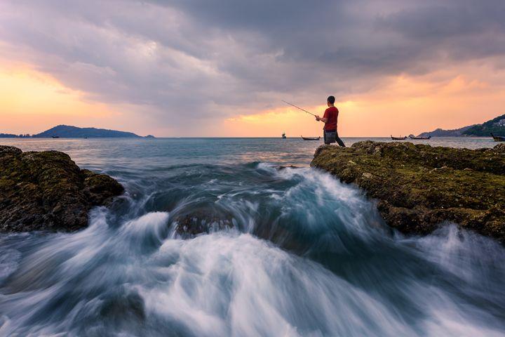 Kalim Fisherman - Andreas Hagspiel Photography