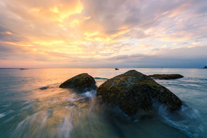 Surin Beach Sunset - Andreas Hagspiel Photography