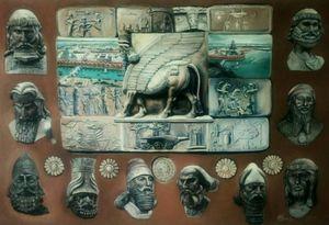 Короли  Месопотамии.