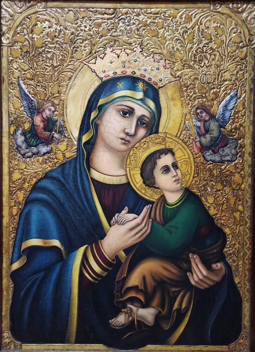 The Mother of God of relentless help - Vira