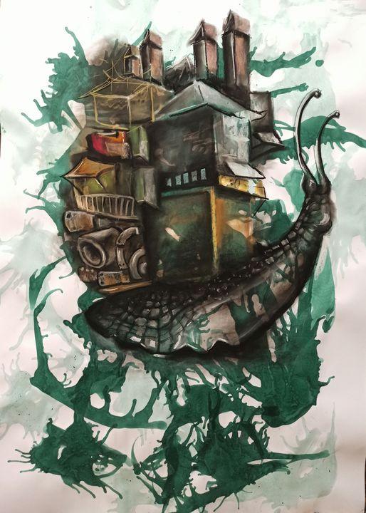 Abstract#13#snail - Vira