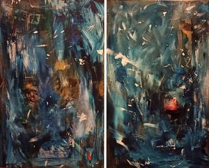 Abstract#Diptych