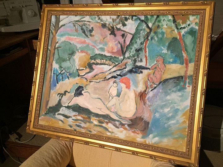 Homage to Henri Matisse - Diverse Fine Art
