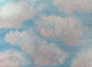 Texture in the clouds - Elle Delaney