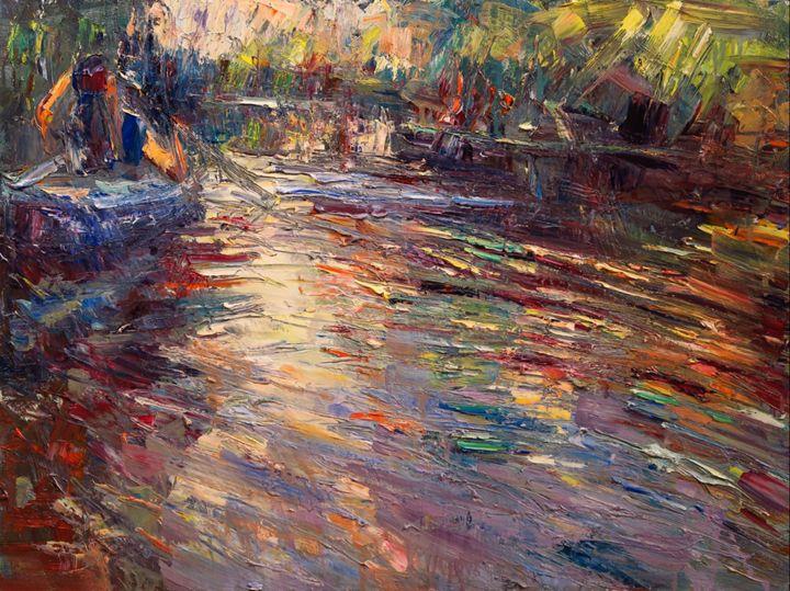 Silent river - Marta Lipowska