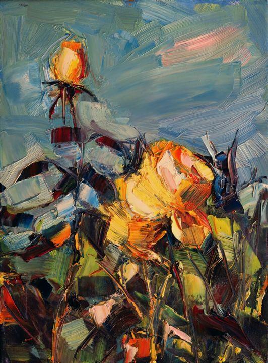Rose garden - Marta Lipowska
