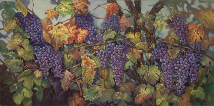 Parable of the Vine - The Art of Carolyn Sterling