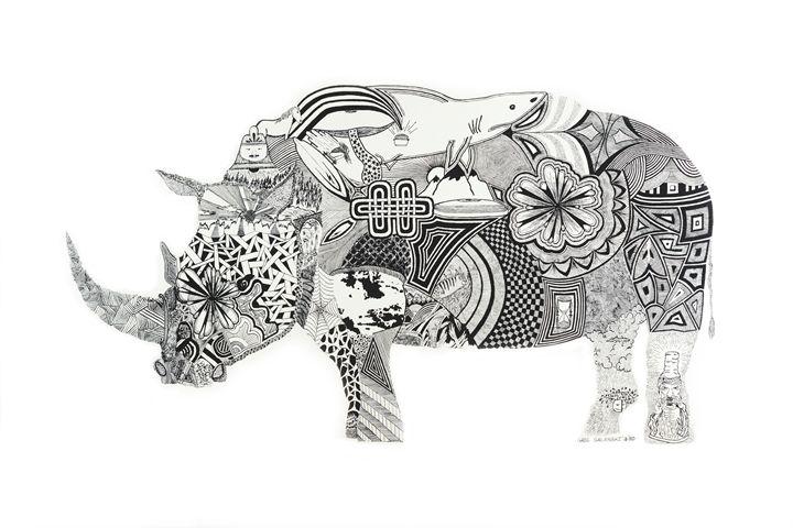 rhino - greg galanski gallery