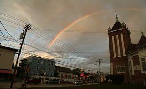 Double Rainbow in Lewiston