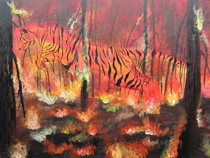 Tiger Flames - Animac