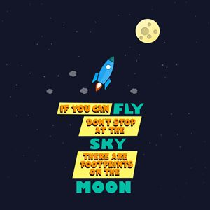 If You Can Fly - Wallart